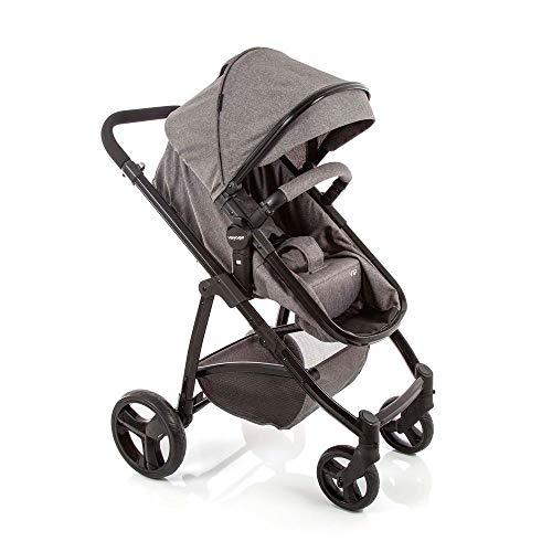 Carrinho de Bebê Voyage Vip Cinza Mescla 0 a 15kg Imp01785