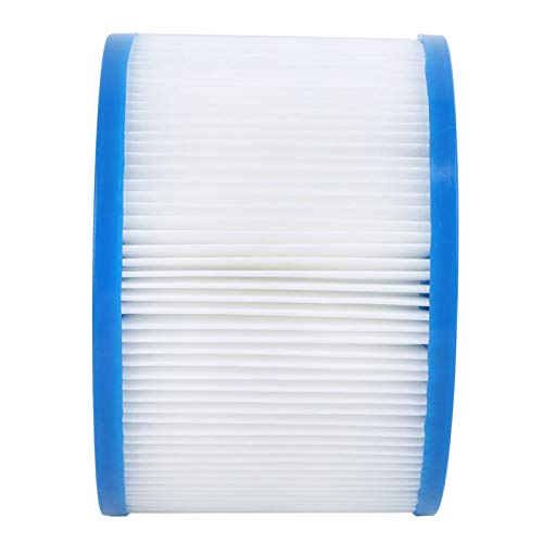 BOLORAMO Cartucho de Filtro de Piscina ecológico para Piscina Resistente para Entrenamiento de natación para Piscina