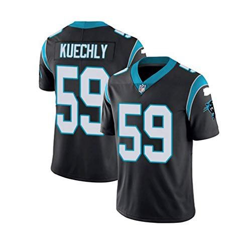 #59 Luke Kuechly, Carolina Panthers, American Football Sportswear, T-shirt Rugby pak