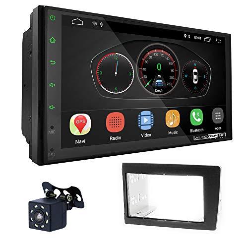 UGAR EX10 7' Android 10.0 DSP Car Radio mit 11-587 Panel Dash Instalación Fascia Kit para Volvo S60 2000-2004; V70, XC70 2001-2004
