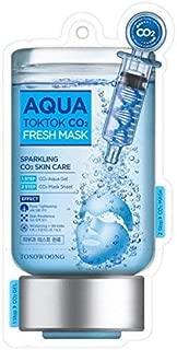 [Tosowoong]Aqua Tok Tok CO2 Mask Pack 5pcs/CO2/Whitening/Anti-Wrinkle