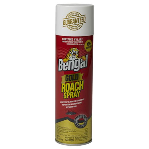 BENGAL CHEMICAL Gold Roach Spray, 11 oz (92464)