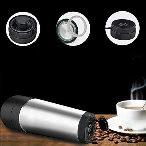 Bouilloire électrique 460Ml silencieux de voyage de commande intelligente créative de bouilloire électrique / tasse d'acier inoxydable facile à porter 7.3 * 8.2 * 24Cm facile à se déplacer, ket élect