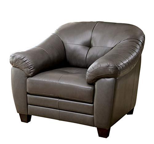 Abbyson Living Gifford Top Grain Leather Chair