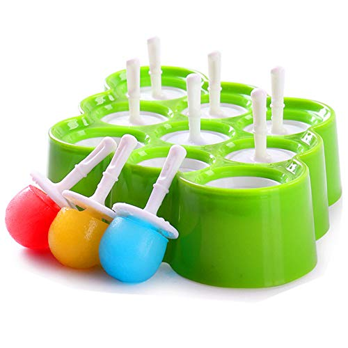 Mini Silicone Ice Cream Moulds Popsicle Molds - BPA-Free Ice Pop/Stick Ice...
