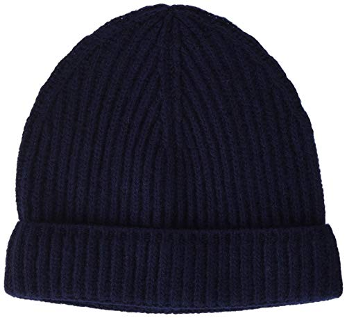 Beige//Blu navy Cappellino 100/% Cotone Taglia unica Unisex Beechfield