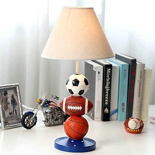 YU-K La boule bleue d'occultation de personnalité des enfants chambre lampe de bureau à LED lampe de chevet lampes chaudes-cadeau de bienvenue, 25 * 50cm, lampe, les ampoules à incandescence
