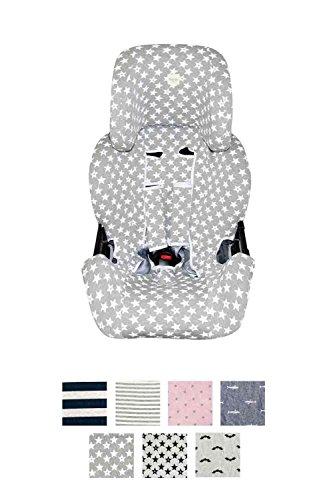Fundas BCN ® - Bezug für Klippan Kiss 2 ® - Verschiedene Muster (Fun Vintage Star)