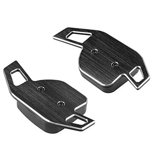 LLKLKL Schaltwippen Autolenkrad Schaltpaddel Aus Aluminiumlegierung Kompatibel Mit A1 A3 S3 RS3 A4 S4 RS4 A5 S5 RS5 A6 S6 RS6 A7 A8 S8 Q5 Q7 TT TTS R8,Schwarz