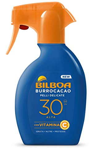 Burrocacao Pelli Delicate SPF 30 Alta - sun protection spray 250 ml
