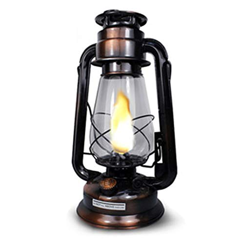 HAIQI Linterna De Queroseno Vintage Retro Lámpara Colgante Lámpara De Camping Al Aire Libre Lámpara De Camping Lámpara De Tienda Lámpara Portátil
