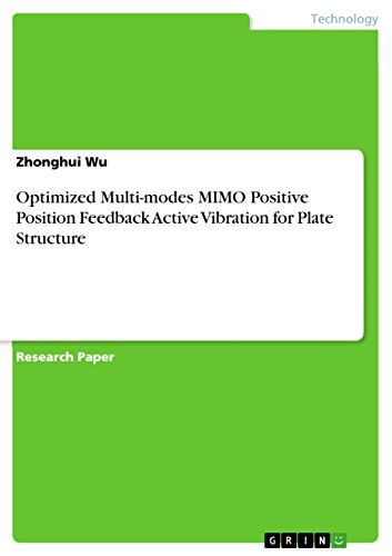Optimized Multi-modes MIMO Positive Position Feedback Active Vibration for Plate Structure (English Edition)