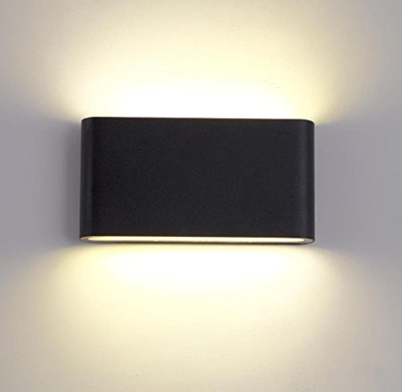 Wandleuchte lampe LED Wandleuchte Leselampe Outdoor Indoor Universal Wandleuchte nach oben und unten leuchtende wasserdichte Wandleuchte Outdoor Patio Moist Light Aisle Balkon Lampe Nacht Wandleuchte
