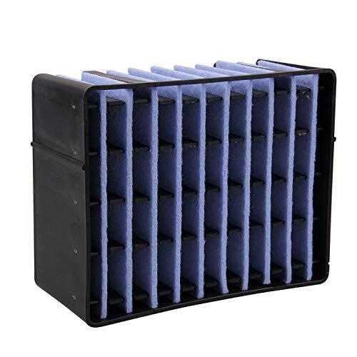 Gosear Enfriador de Aire, Mini acondicionador de Aire, Enfriador evaporativo 3 en 1, Ventilador de Aire Acondicionado de Escritorio USB portátil para Oficina Hogar al Aire Libre