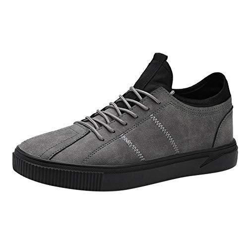 JFHGNJ Verkoop Mannen s Casual Comfortabele Ademend Schoeisel Mode Outdoor Schoenen Sneakers voor Mannen Streetwear-Gray_44_0