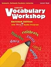 Vocabulary Workshop Enriched Edition Red Level Grade 1