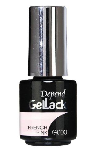 Depend GelLack - Esmalte permanente, tono rosa palo