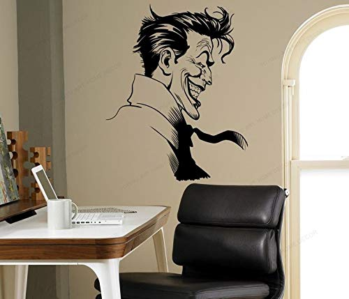 wZUN Clown Comic Wall Decal Home Mural Home Bedroom Wall Decoration Removable Wall Art Mural 42X33cm