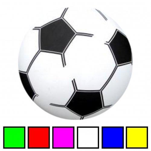 Schnooridoo 12 x Kunststoffball Fussball Ball 20 cm PVC Fußball im Netz Give Away Kindergeburtstag