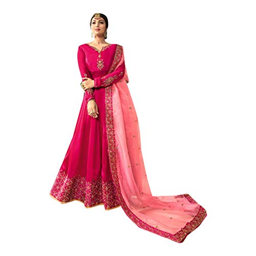 Mujeres Musulmanas Abaya Hijab Kaftan Bollywood Shalwar Viste a Pakistani Party Wear Señoras de la Boda Anarkali Long Salwar Kameez Kamiz Dress Punjabi 7190