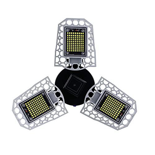 E27 Luz de garaje 60W 80W 100W LED Lámpara deformable Bombilla LED 100-220V Iluminación LED de garaje para la fábrica de la tienda del sótano