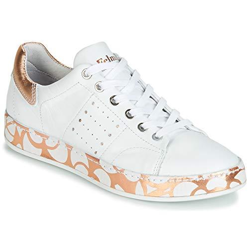 Felmini Anilina Sneaker Damen Weiss - 37 - Sneaker Low Shoes
