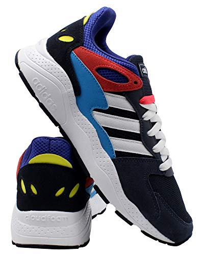 adidas Chaos Mens Sneaker 13 D(M) US Ink-White-Shock Red
