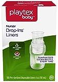 Playtex Baby Nurser Drop-Ins Einweg-Einlagen für Babyflaschen, näher an das Stillen, 118 ml, 100 Stück