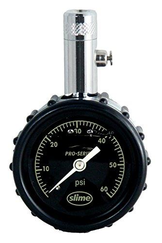 Slime 20289 Pro Series Liquid-Filled Dial Gauge, 0-60 PSI