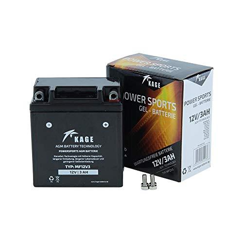 Batterie GEL KAGE YB3L-A YB3L-B