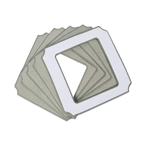 ADUCI 5 Piezas de mopa de Microfibra Tela for Ecovacs...