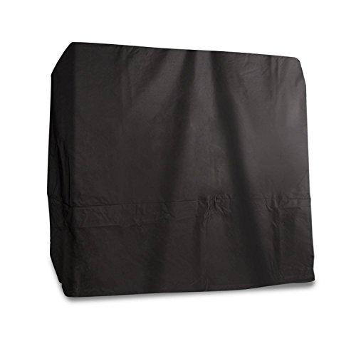 blumfeldt Senator Cover - Abdeckung, Schutzhülle, Polyester, passgenau, wasserdicht, Reißverschluss, strapazierfähig, für Senator Lounge Gartenliege, 205 x 208 x 188 cm (BxHxT), grau