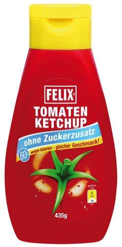 Felix Tomatenketchup ohne Zuckerzusatz - 435gr - 2x
