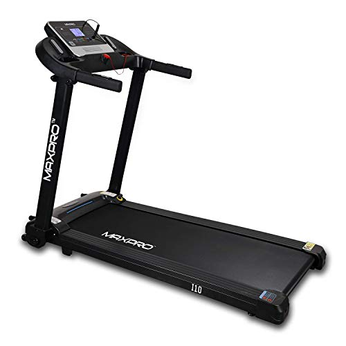 MAXPRO I10 1.5HP (3HP Peak) Motorized TreadmillWith G FIT APP & Auto-Lubrication