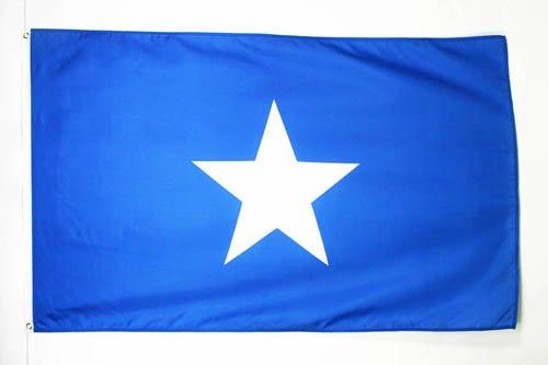 AZ FLAG Flagge Somalia 90x60cm - Bundesrepublik Somalia Fahne 60 x 90 cm - flaggen Top Qualität
