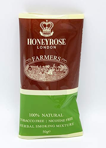 "Honeyrose ""Farmer's HoneyBlend"" Herbal Mixture, Tobacco Free - Nicotine Free"