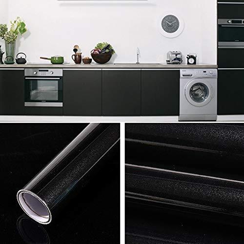 Innentapete Perlglanz Kreative PVC Ziegel Dekoration Möbel Tapeten Aufkleber Schlafzimmer Wohnzimmer-Wand-Wasserdichtes Tapeten Roll, Größe: 60x500cm (Schwarz) (Color : Purple)