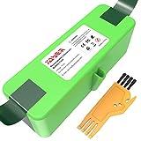 YABER Batería de Litio Compatible con iRobot R oomba 6400mAh Batería de Litio (Li-Ion) Compatible con iRobot Roomba Series 800 700 600 500 960 895 890 860 695 680 690 675 640 614