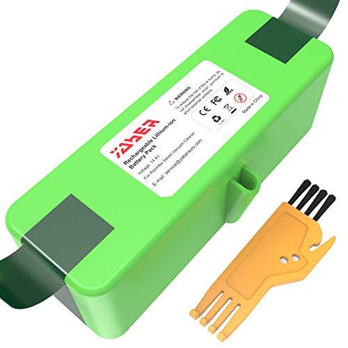 YABER Batería de Litio Compatible con iRobot R oomba 6400mAh Batería de Litio (Li-Ion) Compatible con iRobot Roomba Series 900 800 700 600 500 960 895 890 860 695 680 690 675 640 614