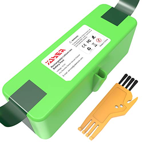 YABER Batería Compatible con iRobot R oomba 6400mAh Batería de Litio (Li-Ion) Compatible con iRobot Roomba Series 900 800 700 600 500 960 895 890 860 695 680 690 675 640 614