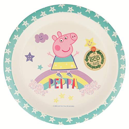 Peppa Pig Magical - Plato Bambu con Orla
