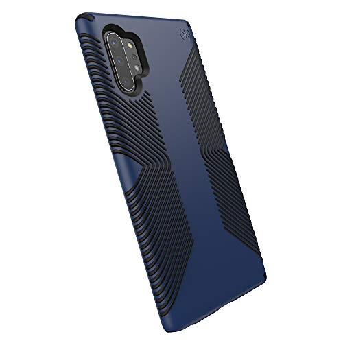 Speck Presidio Grip Samsung Galaxy Note 10+ Case, Coastal Blue/Black