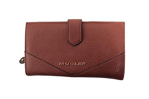 Thierry Mugler Damen Geldbörse Royal Pm1 Cognac