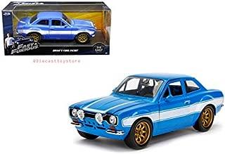 Jada 1:24 W/B - Fast & Furious - Brian's Ford Escort Die Cast Vehicles