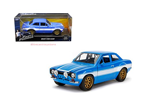 Jada Toys 1/24 ワイルドスピード ブライアン フォード エスコート Brian's Ford Escort ダイキャスト ミニ...