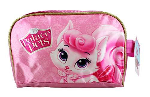 Disney Princess Palace Pets Aurora's Kitten Beauty Pink Pencil Case Toiletry Wash Bag