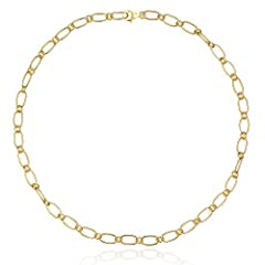Very versatile to wear in your everyday and special occasions with a modern style. Its shape create an effortlessly polished look. Super pretty! Wear it alone or match it with layering necklaces to get a powerful look! Crafted from solid sterling sil...