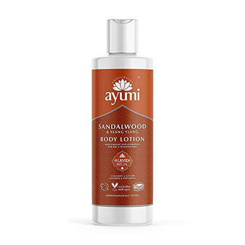 Ayumi Sandalwood & Ylang Ylang Face Wash. Vegan, Cruelty-Free, Dermatologically-Tested, 1 x 150ml