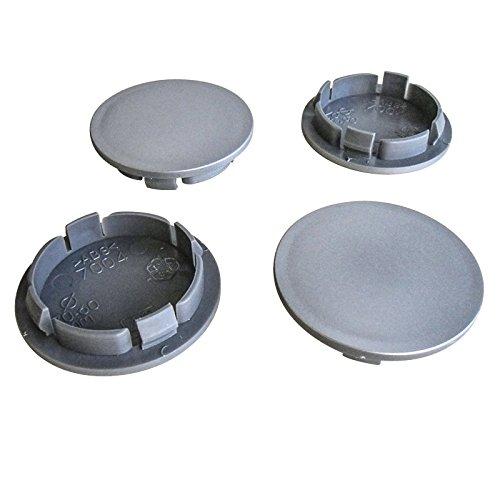 4x Nabenkappen 70 mm / 58,5 mm Nabendeckel Universal Kappen 70,0/58,5 mm Deckel Felgendeckel