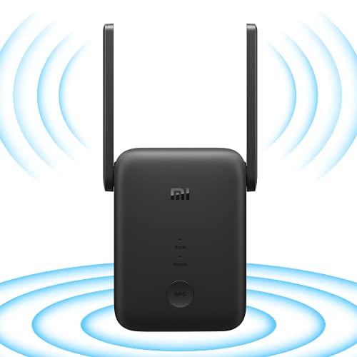 Xiao mi WiFi - Extender, Ripetitore Segnale, WiFi AC1200 WiFi Ripetitore Dual Band 5GHz 867Mbps / 2.4GHz 300Mbps attraverso le pareti, Ripetitore WiFi, funziona con tutti i router WiFi